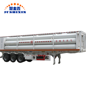 factory price cng semi trailer high pressure cng tube semi trailer