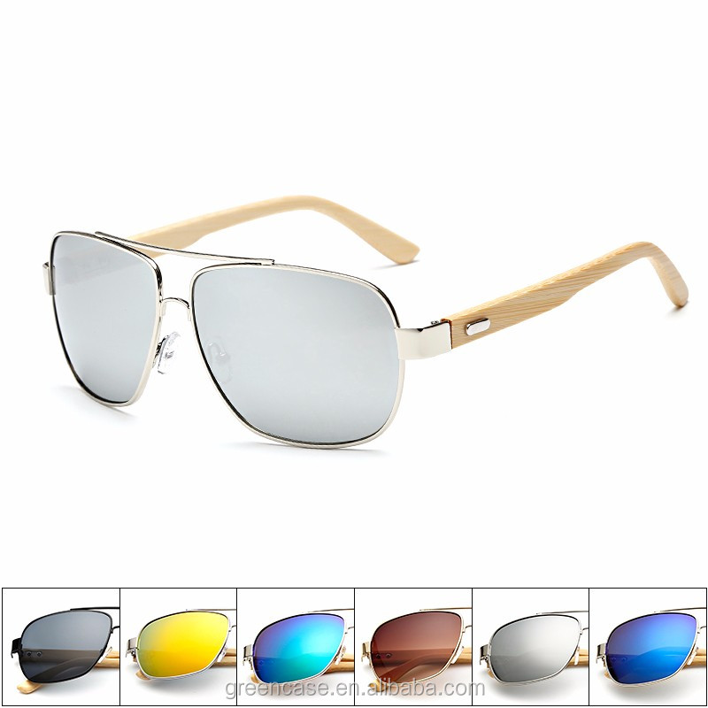 Shenzhen Wholesale Cat.3 Polarized Bamboo Sunglasses for Men and Women