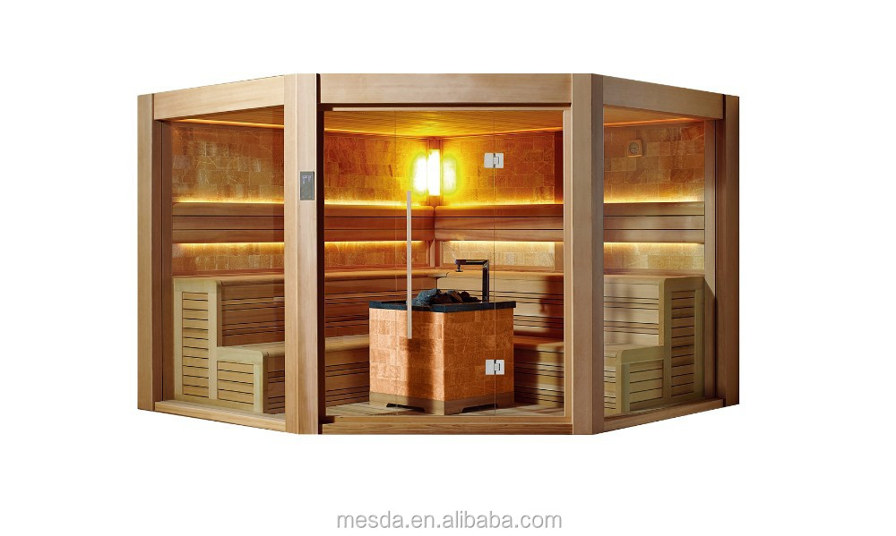 2015 Newest Pentagon Sauna WS-1501 in Red cedar with CE,ISO