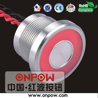 High qualified switch made Best selling switch since 1988 (CE, ROHS) 22mm 1NO momentary ring illuminated piezo switch