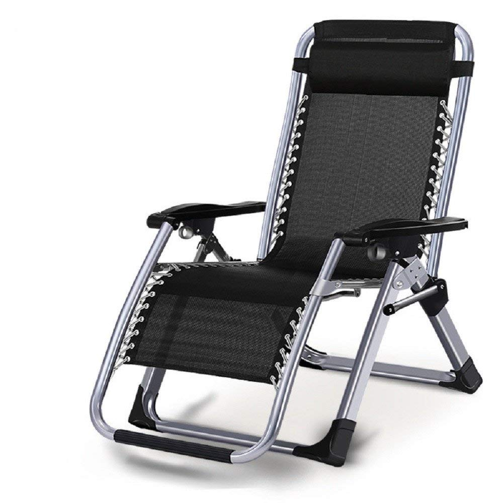 ZLJTYN Zero Gravity Folding Sun Lounger | Foldable Deck Chair Chair, Chair, Office Lunch Break, Folding Beach Chair, Outdoor Lounge Chair, Lazy Chair