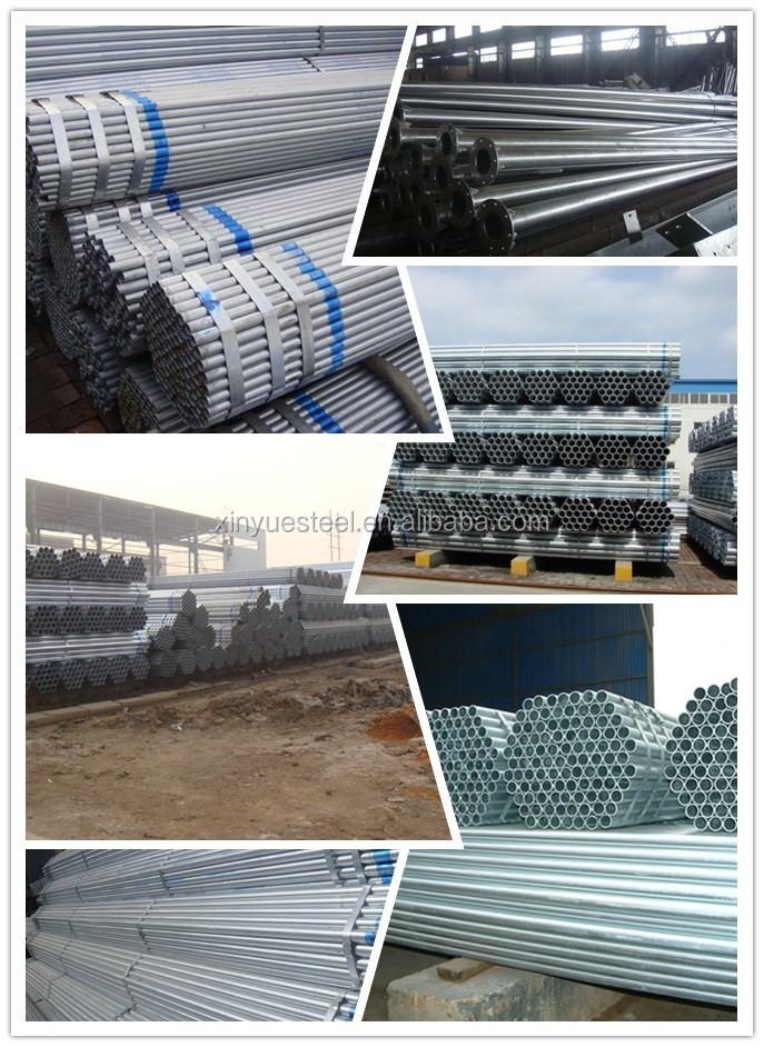 Galvanized Steel Scaffolding : Galvanized metal chap scaffolding pipe and