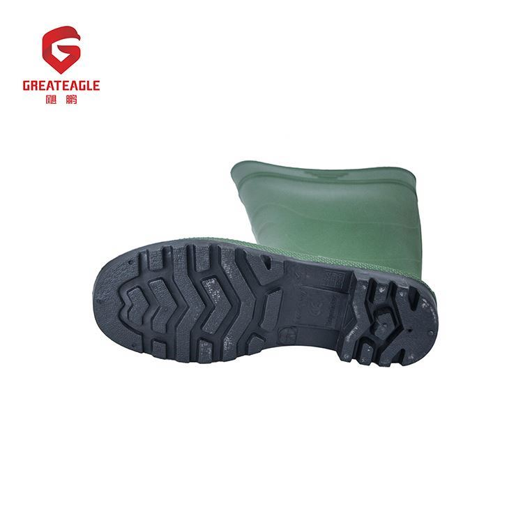 High temperature resistance heelshockproof wholesale custom wellies for men