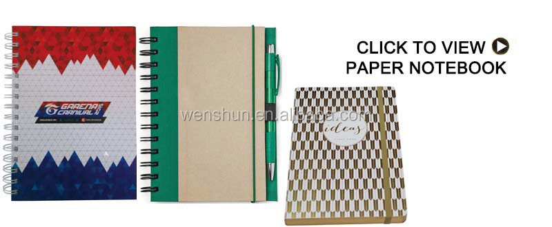 Plastic Notebook Inserts for Spiral Binding Notebook