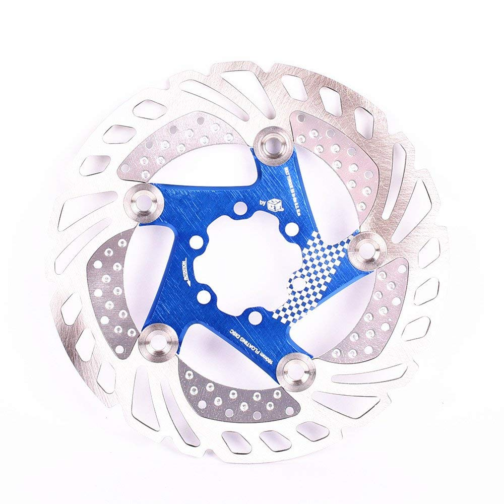 180mm Mountain Bicycle Brake Disc Floating Rotor 3 Color Stainless Steel 160mm