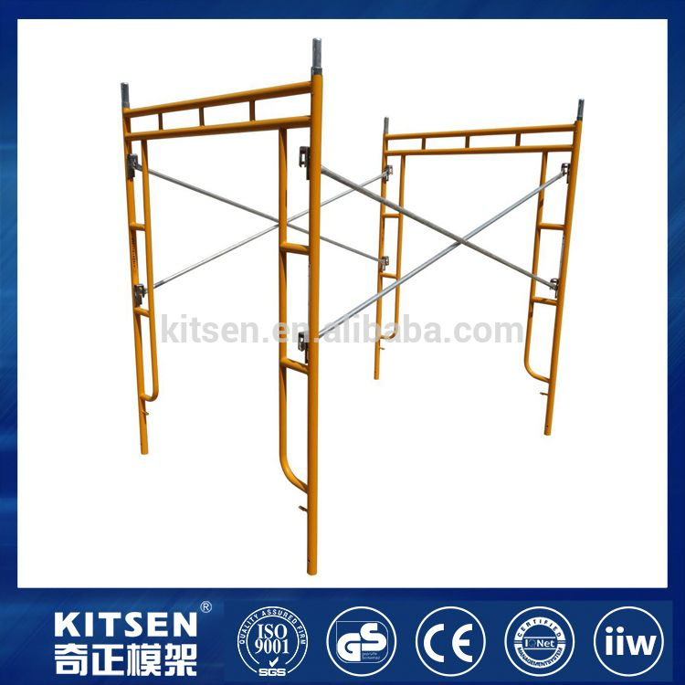 Factory price building construction scaffolding h frames