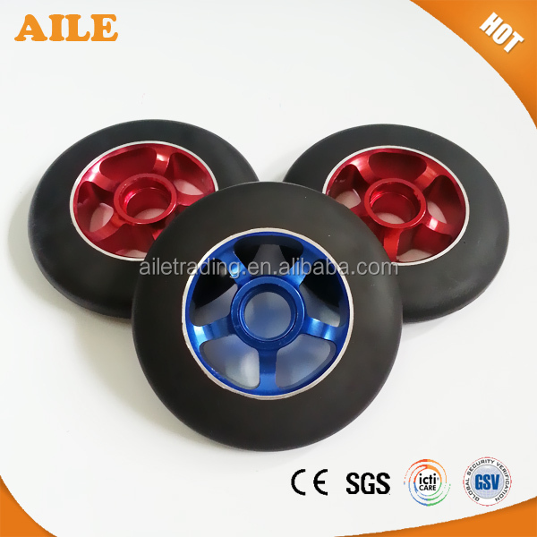 High Rebound 110mm Metal Core Adult Kick Scooter Wheels