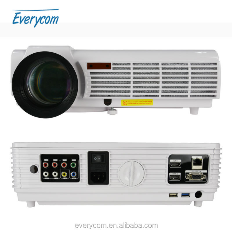 LED96+ Projector Android4.4 wifi optional 1280*800 Support Full HD 1080p Video 3D LED Home Projector 3000lms lcd Beamer VGA