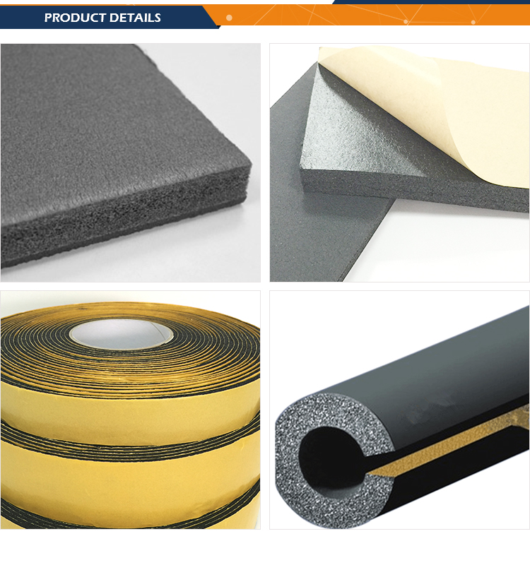 rubber foam_1 | Glass Wool | Rock Wool | Rubber Foam | Rubber Plastic | Aluminum Foil | Mineral Wool | Rockwool | Ceramic Wool | Aluminum Silicate | Insulation Nails | Flex Tape | Pipe Insulation
