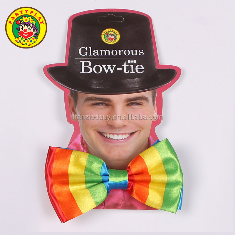 Waistcoat Adult Circus New Mens 2 Piece Clown Polka Dot Spotty Jumbo Bow Tie