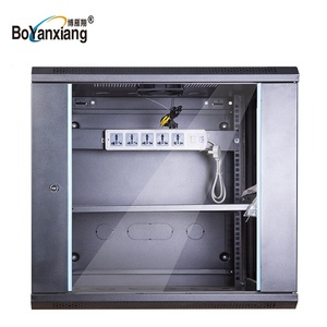 19 inch wall mounted rack 6U/ 9u Server data cabinet for network