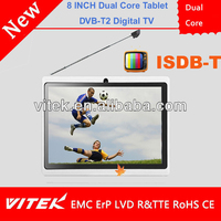 Dual Core 8 INCH Japan DVB-T2 TABLET
