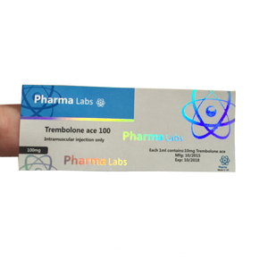 Pharma labs 100mg steroid labels and box/ 10ml vial steroid sticker