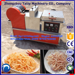 Squid Shredder Machine With Backing Function Squid Cutting Machine Squid Process Machine