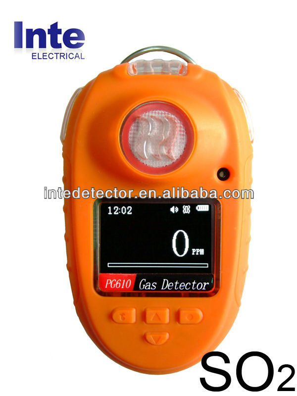 PG610 Sulfur Dioxide SO2 concentration detector leak alarm
