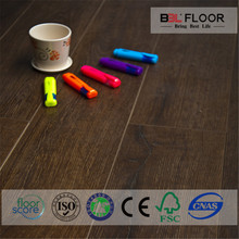 OEM color laminate flooring glossy 8mm for concrete grinding