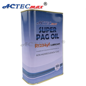 OEM supercool quality compressor lubricant PAG POE oil r134a refrigerants