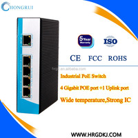 Factory directly supply managable 8x 10/100/1000M copper RJ-45 ports, 4x 1000M SFP port industrial ethernet switch with 8 ports
