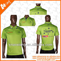 Sublimation printing cheap polo t shirt