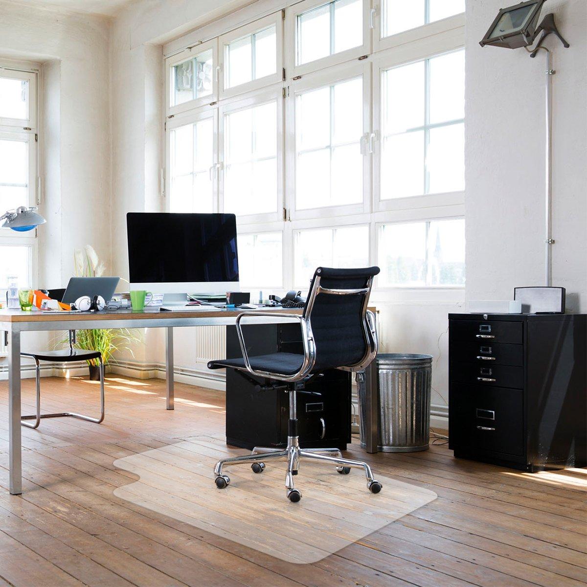 Get Quotations Sy Desk Chair Mat For Hardwood Floors Transpa Non Slip Premium Quality Floor 36