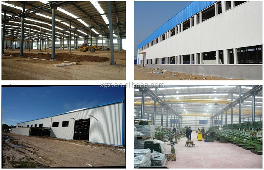 prefabricated steel structure warehouse to Africa
