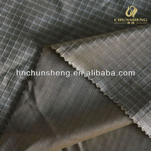 polyester wap knitted small grid dazzle fabric plain cloth used for lining,home textile,curtain
