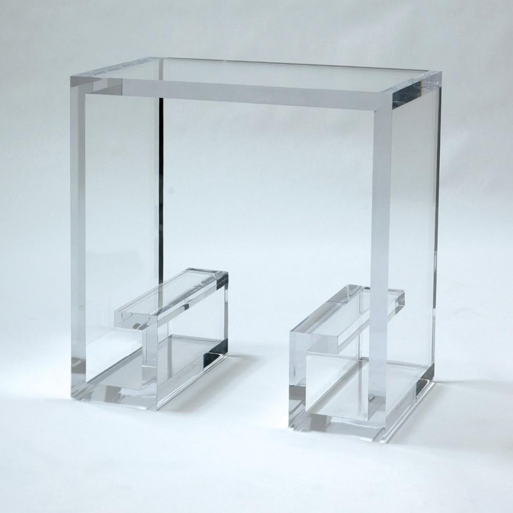 Clear Acrylic Modern Coffee Table,Customized Acrylic ...