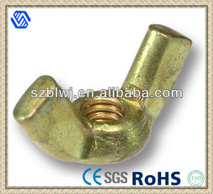 Brass Wing Bolt And Wing Nuts