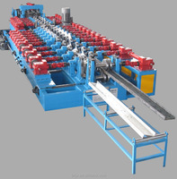 Building Frame Purlin Roll Forming Machine /Steel Profile Metal C Z Purlin Making Machine