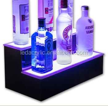 18 led lighted bar shelf buy led lighted bar shelfacrylic bar 18quot led lighted bar shelf mozeypictures Images