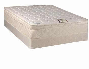 Matras Voor Box : 10 inch kussen top volledig gemonteerd orthopedische queen size