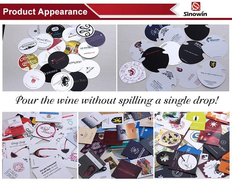 Có thể giặt Rượu Ngắt Rượu Disk Thả Dừng Đổ Spout Phù Hợp Với Bất Kỳ Chai Rượu Vang
