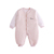 China New arrival newborn baby clothes plain rompers cotton long sleeve unisex infant toddlers clothing
