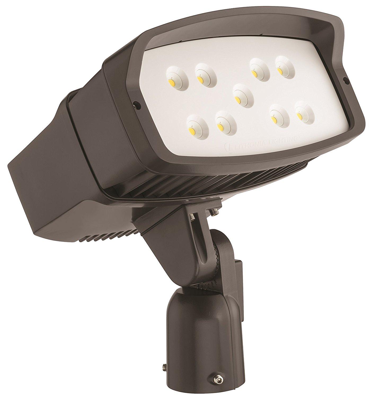Lithonia Lighting OFL2 LED P2 40K MVOLT IS DDBXD M2 Led Size 2 Floodlight with P2 Performance Package, Slipfitter Mount, MVOLT, 4000K, 10000 Lumens