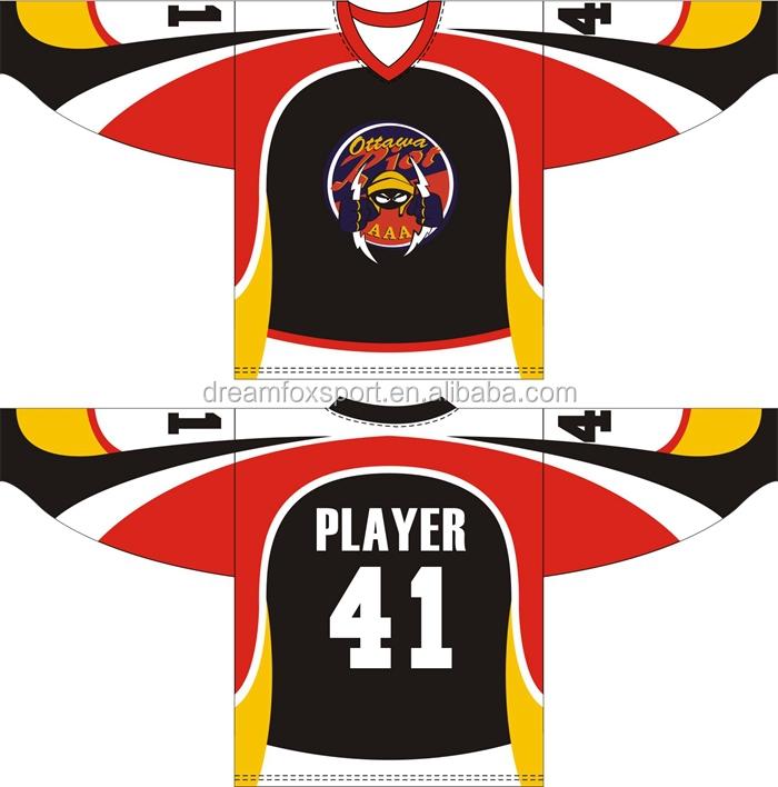 Long Sleeves Hockey Jerseys Wholesale Cheap Hockey Jerseys Custom