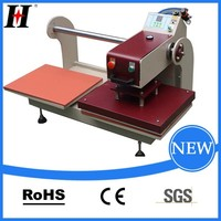 Pneumatic Double stations Factory supply heat transfer machine for skateboard