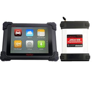 No Tax!! Autel Maxisys Pro MS908P Complete Diagnostic System with J2534 Box to reprogramming Auto Diagnostic Tool 2 year update