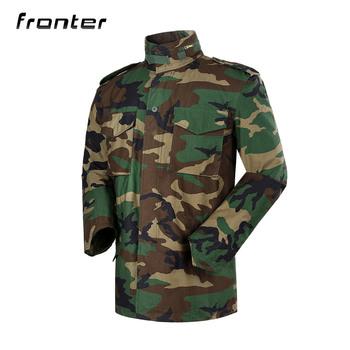 d9074e40d8ebb Fronter Hot Wholesale Custom Bomber Camo Army Zipper Long Sleeves Camouflage  Jackets For Men