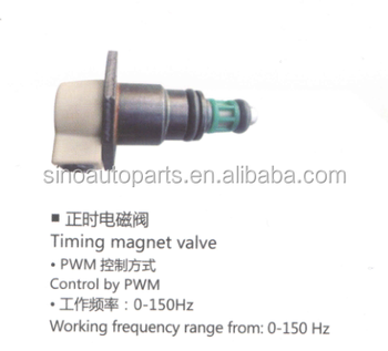 0-150HZ PWM CONTROL TIMING MAGNET VALVE FOR TRUCK/CAR/BUS