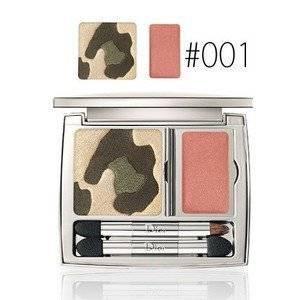 Christian Dior Golden Jungle Palette for Women, No. 001 Golden Khakis, 0.16 Ounce