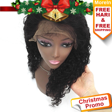 Hot sale human wig unprocessed virgin human hair 360 lace frontal wig