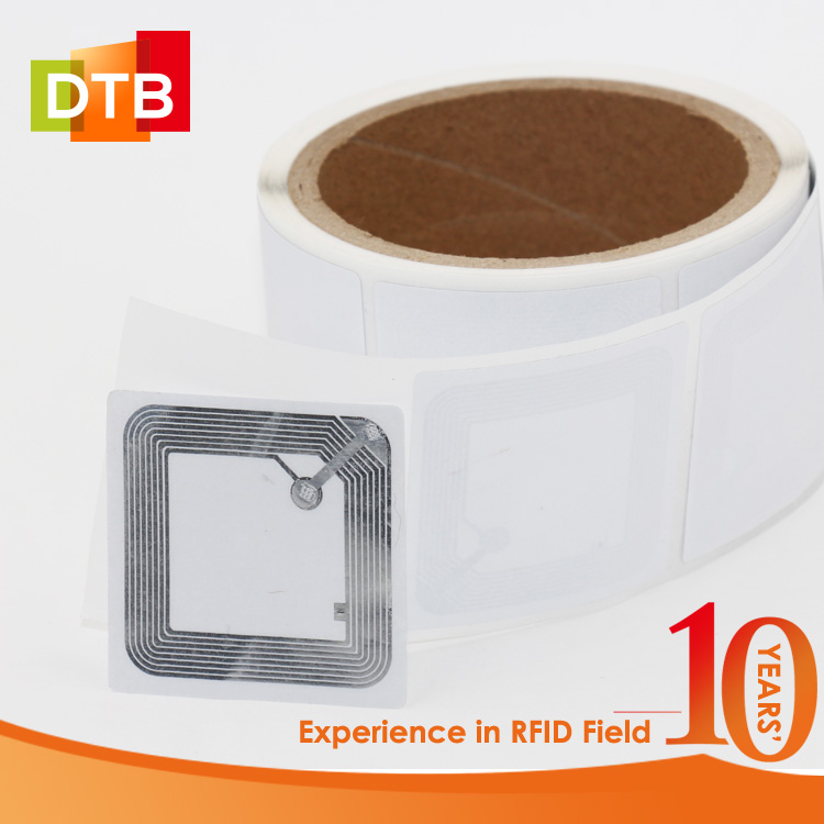 DTB Shenzhen Factory Low Pricce 13.56MHz Tag NXP NFC Knowladge RFID Paper Sticker