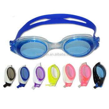 Factory direct custom best advanced competitive waterproof silicone swim goggles anti fog wholesale