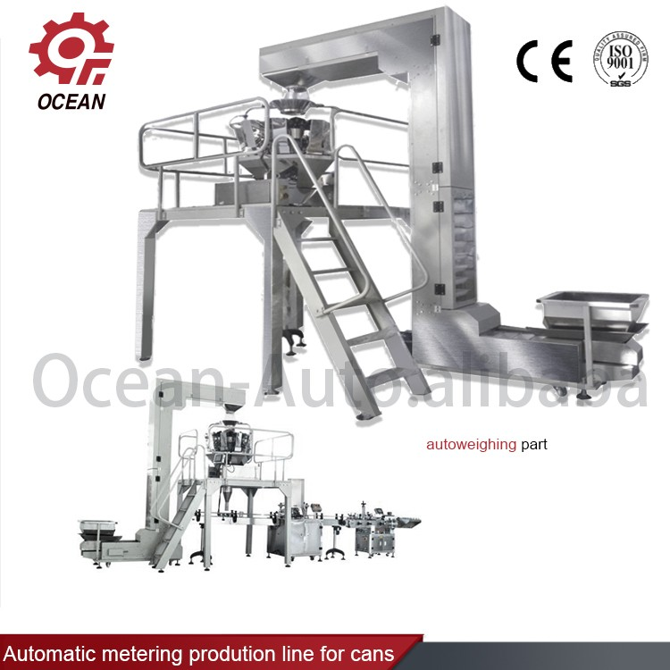 Tin Can Fish Tuna/Sardine Seafood Packaging Production Line