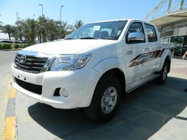 Armor B-6 Level Toyota Hilux model 2014