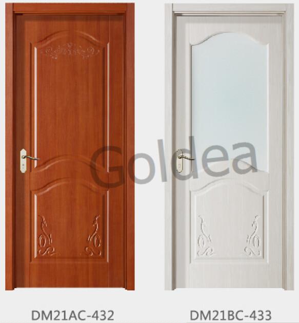 Goldea Wooden White Distressed Heart Shape Door Stop Wood Panel Design