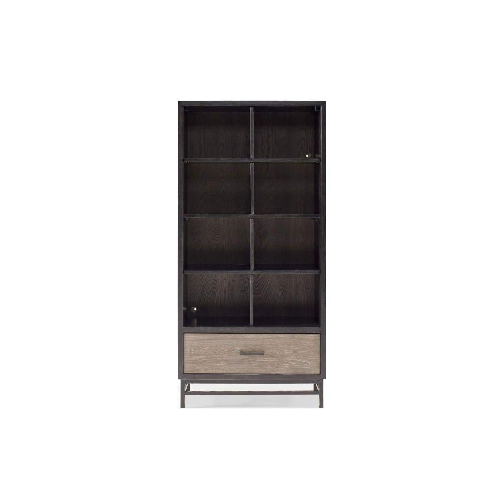 Svitlife Brown Wood Contemporary Bookcase Bookcase Brown Wood Shelf 3 Contemporary 5 Bookshelf Shelves