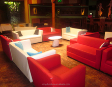 red and white wedding lounge furniture XY0370