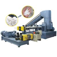 Competitive Price Plastic Recycle Pellet Making Machine PP PE Pelletizing Line