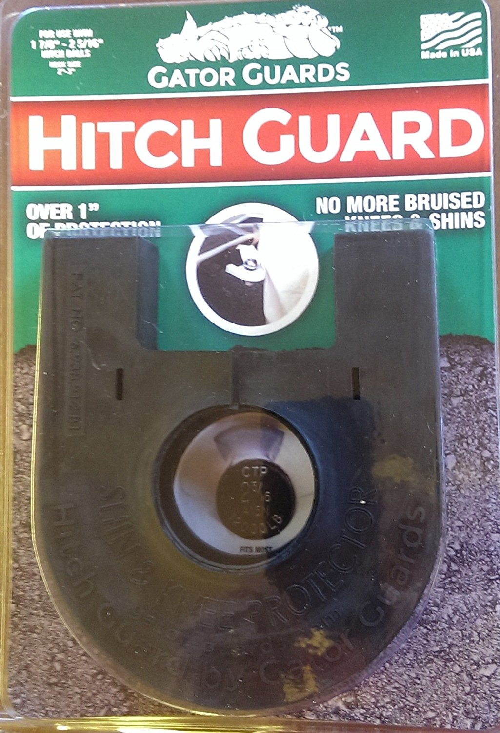 Gator Guards Hitch Guard SS Marine Tow Hitch Protector